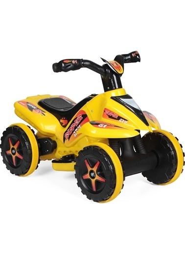 Morhipo kitap UJ Toys 6V Akülü ATV - Sarı Renkli